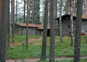 rakennuksia pieni