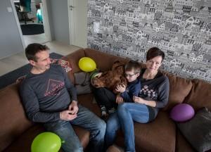 yläaulan sohvalla