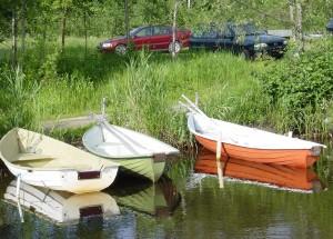 Ahilammen veneitä