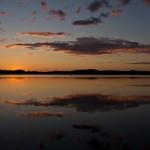 Auringonlasku/ Kirsi Vilenius