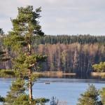 Kalastajat Lastujärvellä/ Päivi Remula