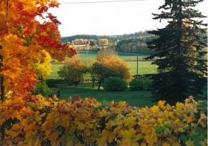 Kirkonmäeltä syksyllä