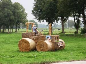 Ilpo Heporauta Traktori Saksan matkalla Sottrumissa