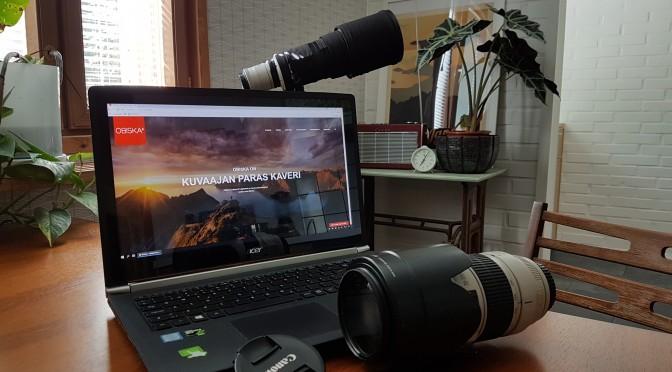 Obiska vuokraa valokuvauslaitteita Turengista koko Suomeen